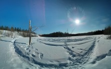 I shot this pano of Lost Lake just the other day. It's another great example of the Nexus 4's Photo Sphere feature.