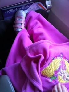 Kid on Alaska Airlines