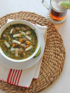 Green Chili-Pork Soup