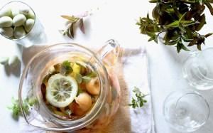 Cantaloupe Sangria