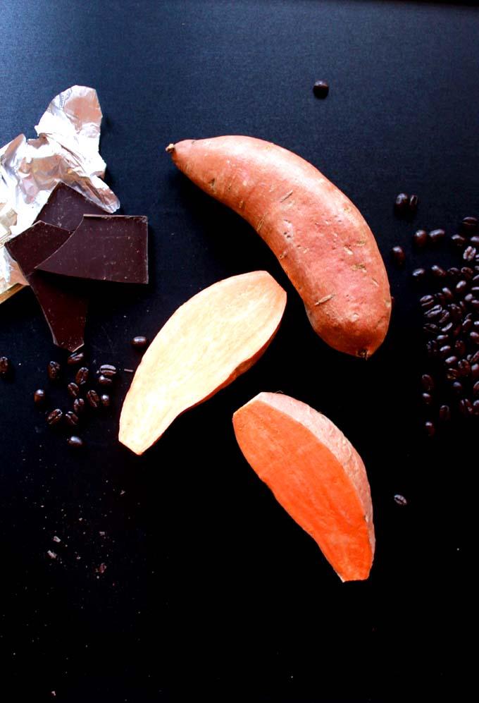 Roasted-coffee-sweet-potatoe-dessert-fries-drizzled-with-dark-chocolate