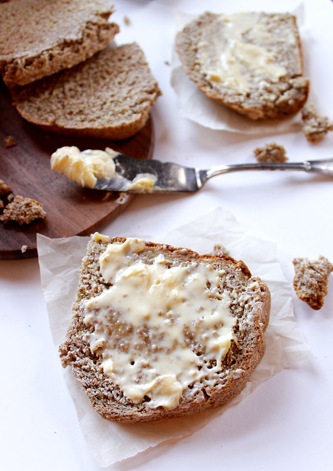 Irish Brown Soda Bread. Easy to make. Hearty. Tastey Perfect for dipping in stews or spreading with butter #HomemadeBread