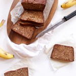 Gluten-Free Banana Bread. Made with almond flour! #GlutenFree #HomadeBread