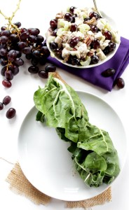 Sonoma Chicken Salad Swiss Chard Wrap