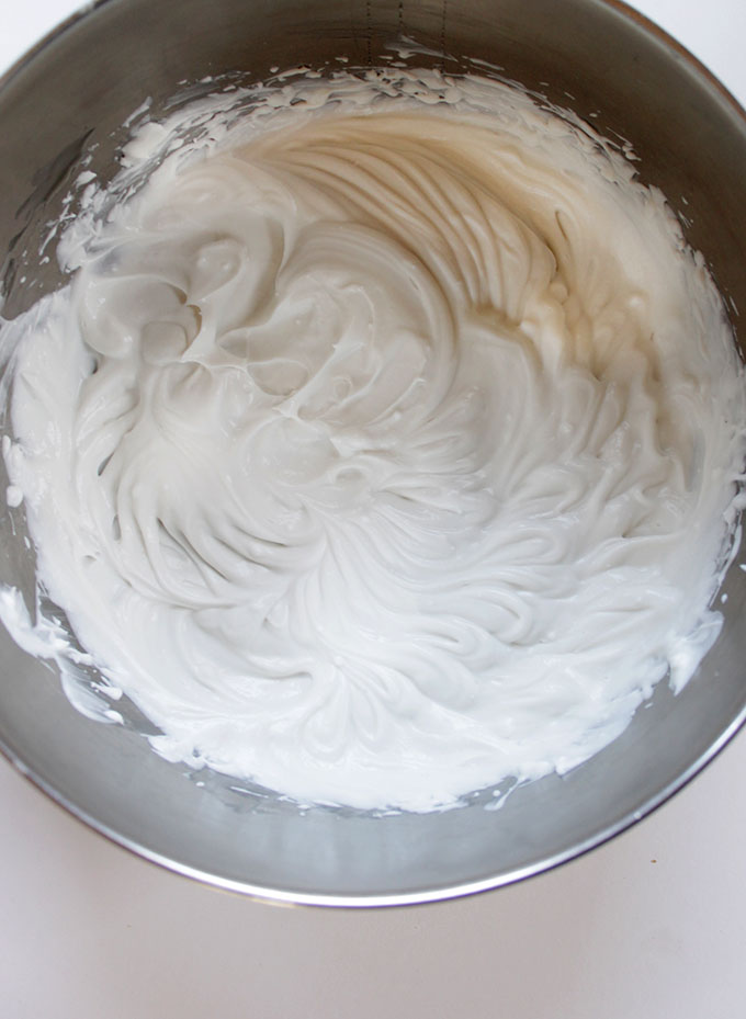 Coconut Whipped Cream for Chocolate Coffee Avocado Pudding. #Vegan #refinedsugarfree
