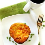 Bacon and Egg Breakfast Muffins. Make ahead breakfast. Great for on-the-go. #breakfast #glutenfree