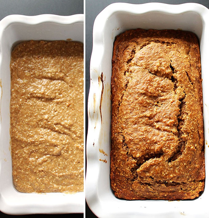 Banana Sweet Potato Bread. So gooy and delicious. #glutenfree