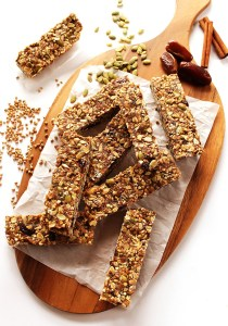 Seedy Buckwheat Granola Bars