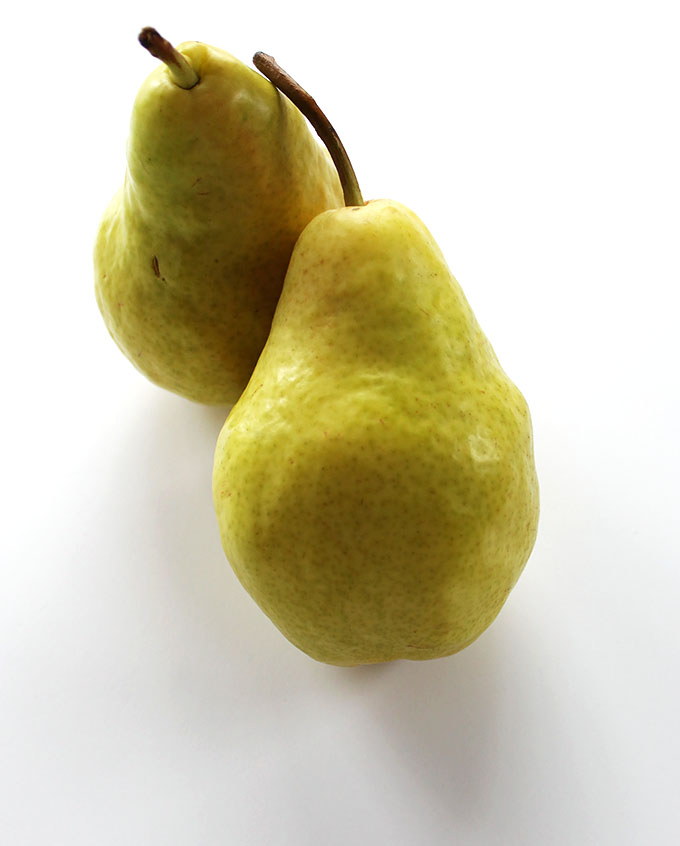 Gorgeous pears for Pear Coconut Green Smoothie!