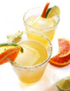 Skinny Orange Lime Margarita