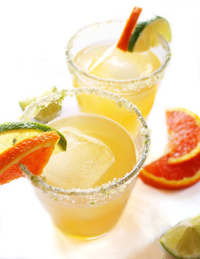 Skinny Orange Lime Margarita