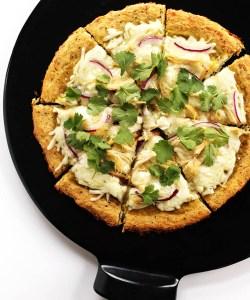 Green Chicken Enchilada Pizza (GF)