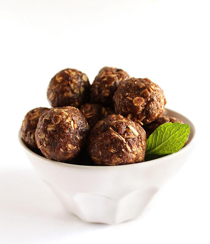 Chocolate Mint Energy Balls (GF)