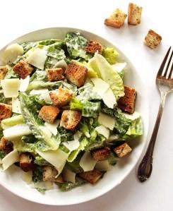 Easy Caesar Salad (GF)