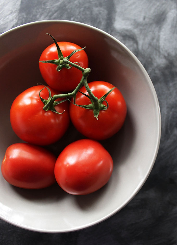 Tomatoes for Easy Gazpacho