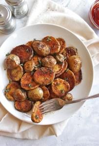 25 Minute Crispy Breakfast Potatoes
