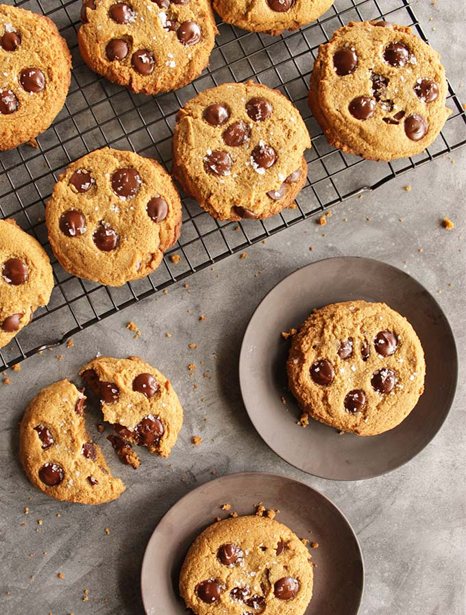 Soft Chocolate Chip Cookies (Gluten Free)