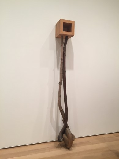 Martin Puryear's Sanctuary at Chicago Art Institute.