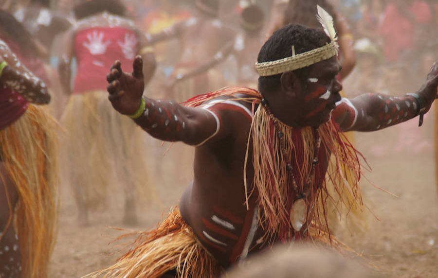 aboriginal tribal dance