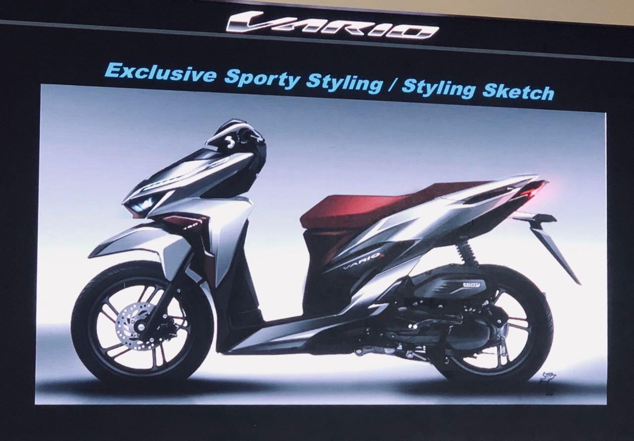 Modifikasi New Honda Vario 125 150hora Kuat Sanggane