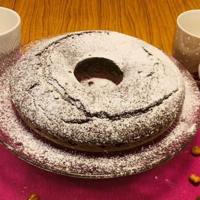 Ciambellone light al cioccolato