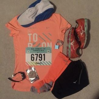 Toronto Nike Race Outfit