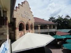 Facade of Bruns Hotel