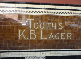 Tooth's lager