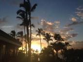 Sunset at the Wailea Beach Marriott