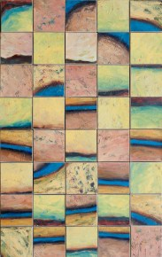 20 Snakes and Rivers_2012_oil on canvases_123x77cm