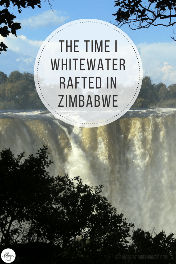 I never thought I'd whitewater raft let alone do it in Africa. Here's my story about the time I whitewater rafted in Zimbabwe. On the Zambezi River.