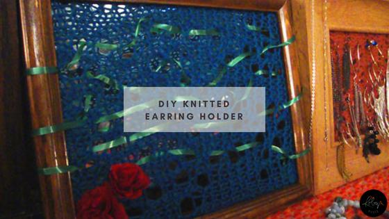 Knitted Earring Holder Pattern