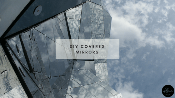 DIY Covered Mirrors