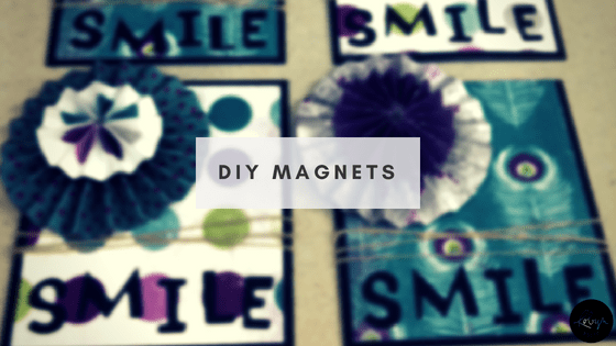 DIY Magnets Smile