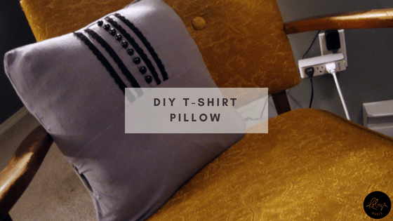 DIY T-Shirt Pillow