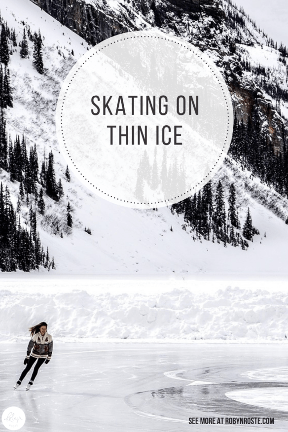 Today we're talking about the phrase Skating on Thin Ice. It's one of those strange, idioms with more than one meaning. Literal and figurative.