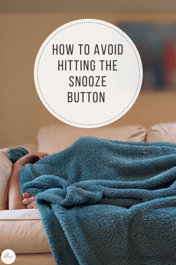 I don't actually use a snooze button (can't figure it out) but I learned how to set four different alarms on my cell phone at different intervals.
