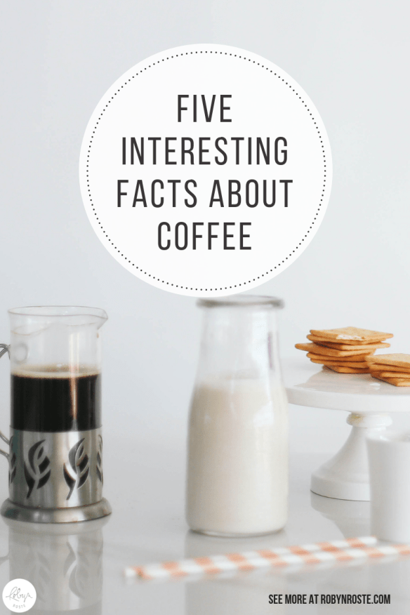 I've compiled a list of interesting facts about coffee because coffee is a super fascinating industry and drink. Also I'm a big fan. A super loyal fan too.