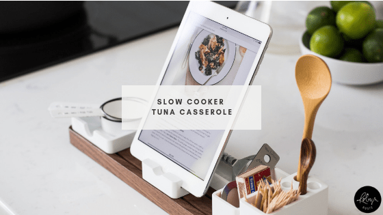 Slow Cooker Tuna Casserole