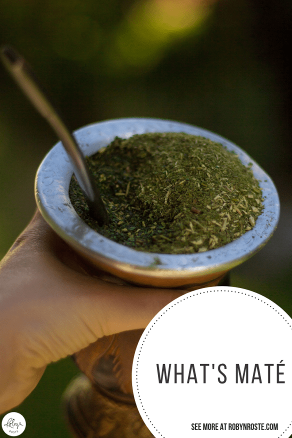 Mate or latte, where do you stand? Is this still a debate? I bring this up because my husband is really into maté.