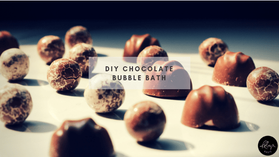 DIY Chocolate Bubble Bath