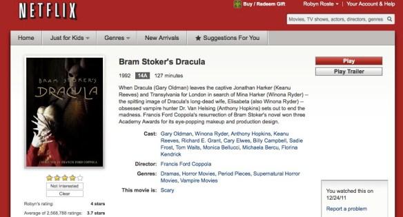 Netflix Dracula