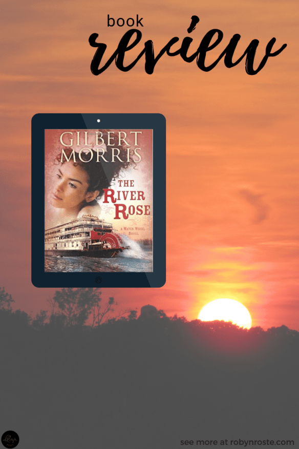 A month or so ago I received a review copy of The River Rose and the main reason I decided to read it was because I found the author intriguing.