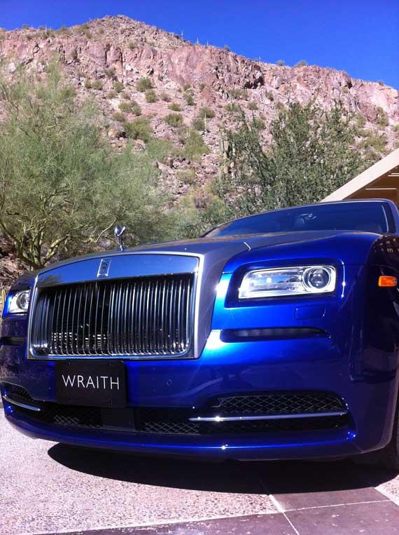 Wraith launch in Phoenix