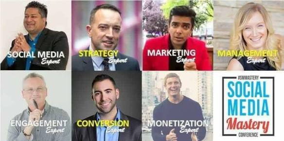 Social Media Mastery Conference Speakers 2016