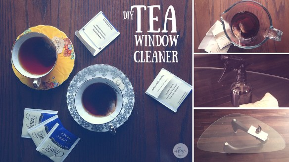 DIY Black Tea Window Cleaner
