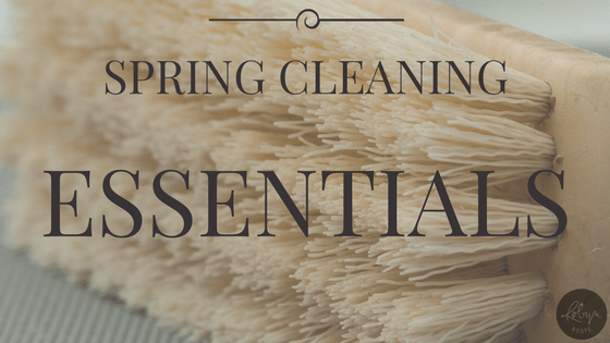 SPRING CLEANING ESSENTIALS