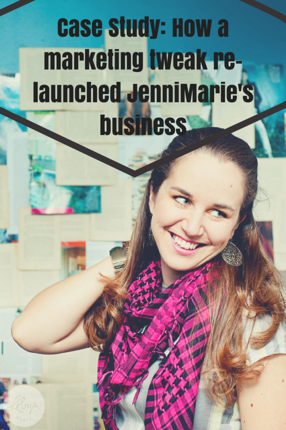From quitting to becoming a successful wedding photographer. JenniMarie's story will encourage you to keep going after your dreams, even if it seems like it will never work out. Today's case study is how a marketing tweak re-launched JenniMarie's business.