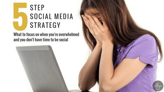 Five Step Social Media Strategy