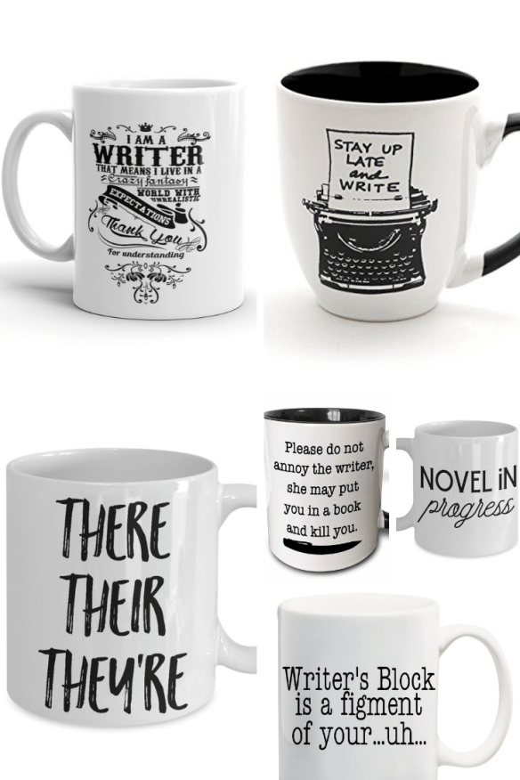 Have a writer on your list? Start here! These are the best gifts for writers, starting with writer-themed mugs!
